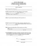 Delaware Certificate of Incorporation A Public Benefit Corporation of (Name of Corporation)