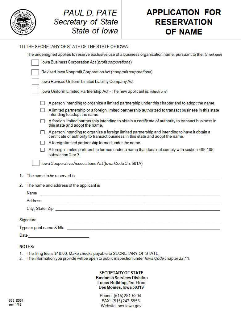 certificate of organization template - free iowa articles of incorporation templates ia
