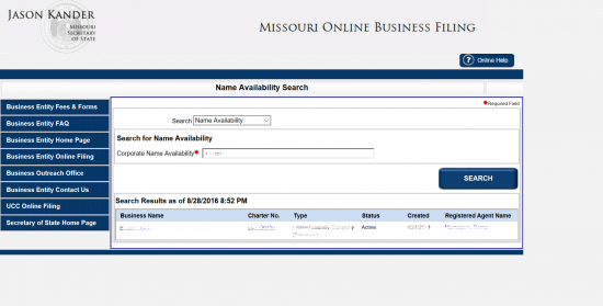 Missouri name avail p2