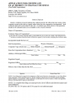 Nebraska Application for Certificate of Authority to Transact Business for a Nonprofit Corporation