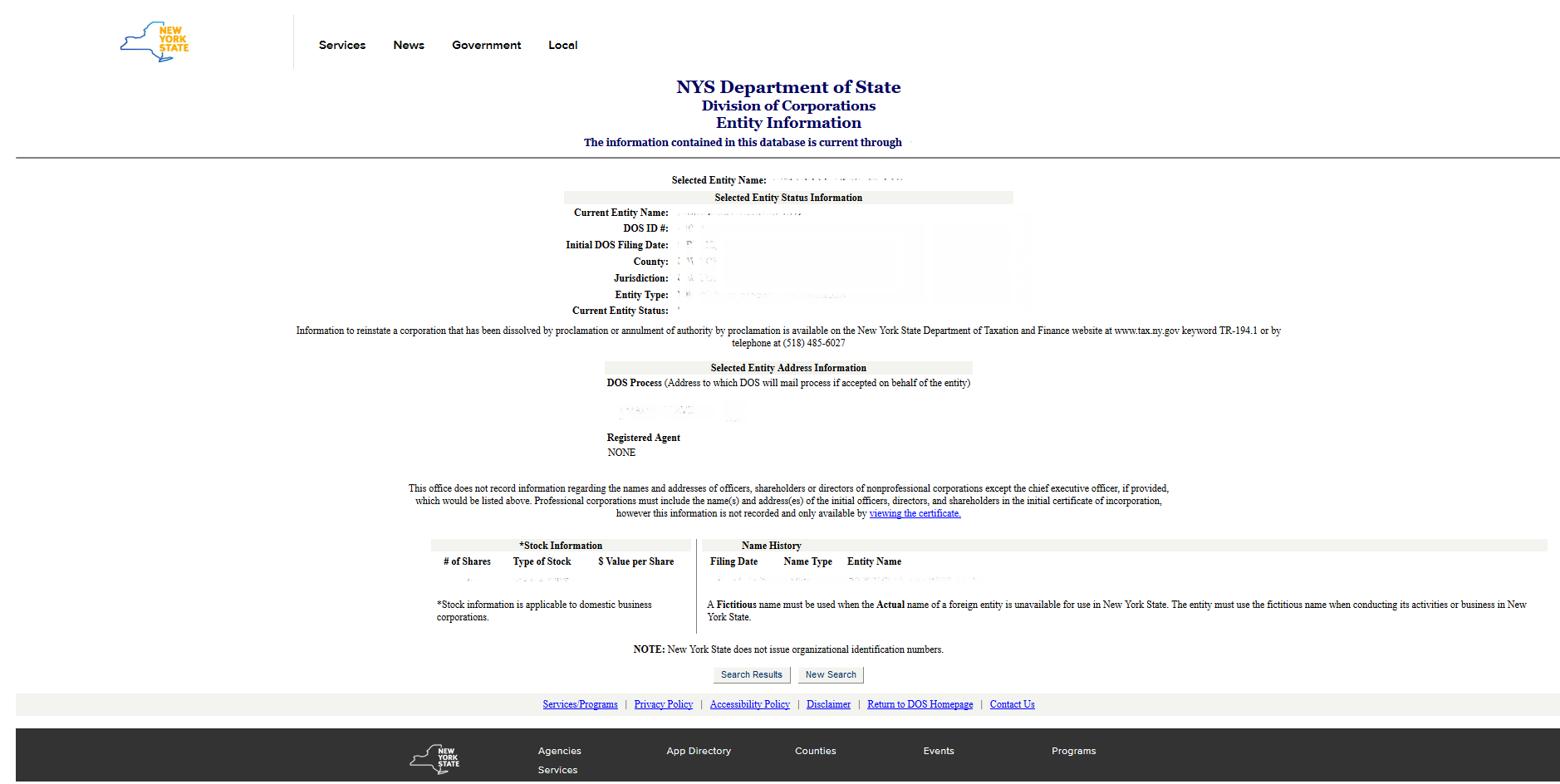 Free new york articles of incorporation templates ny state ny name search p4 1betcityfo Gallery