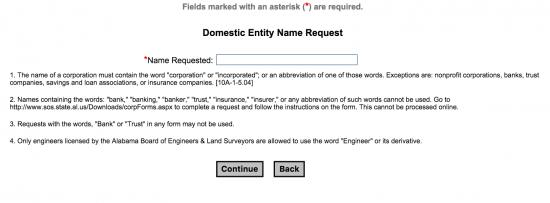 alabama-entity-name-request-form
