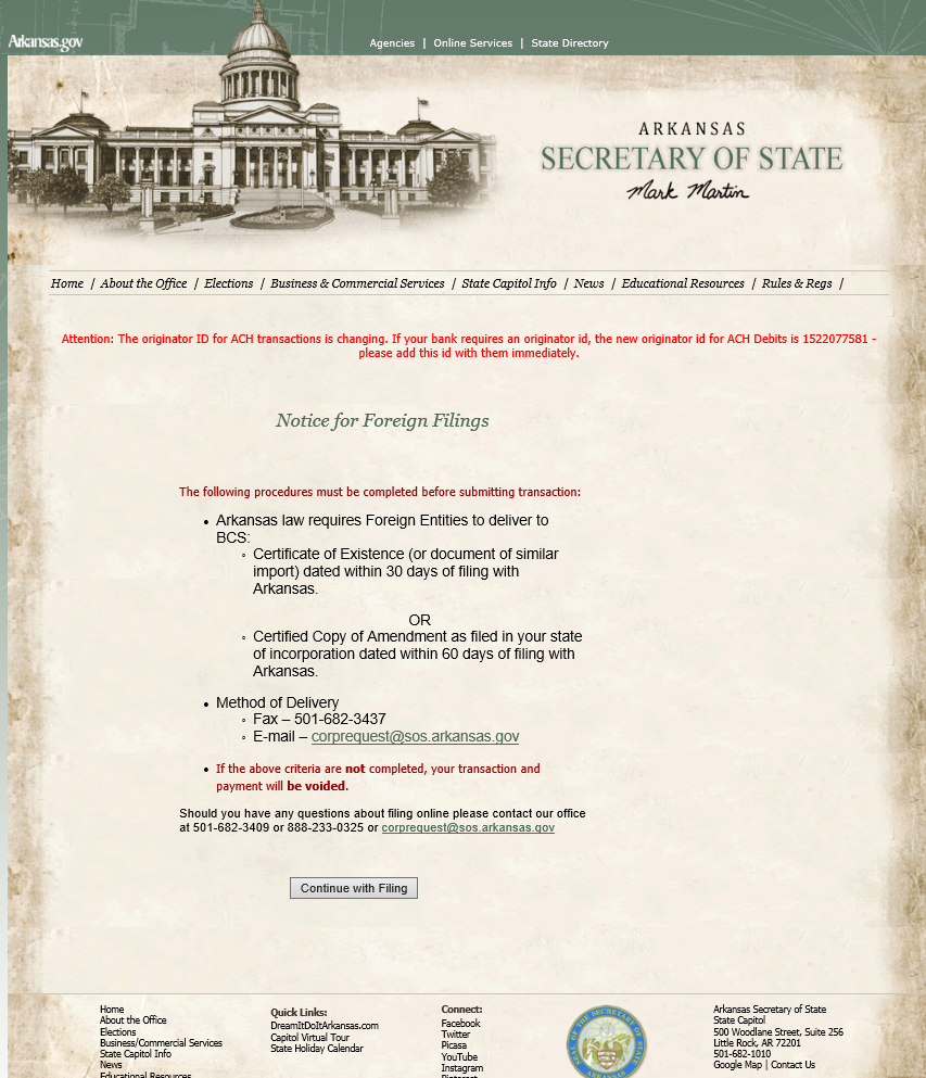 Free arkansas application for certificate of authority form f 01 ar foreign aoi forms instructions 1betcityfo Image collections