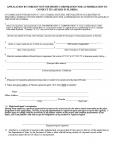 Florida Application by Foreign Not For Profit Corporation For Authorization To Conduct Its Affairs In Florida