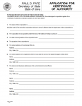 Iowa Application for Certificate of Authority| Form 635_0110A