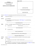 Maine Articles of Incorporation Domestic Business Corporation | Form MBCA-6