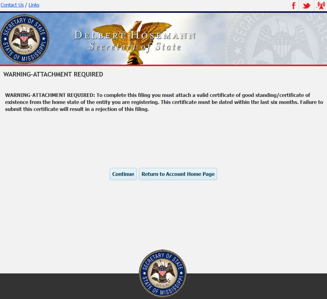 Free mississippi application for certificate of authority ms for nonprofwarn 1betcityfo Gallery
