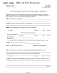 State of New Hampshire Application For Registration Of A Foreign Nonprofit Corporation | Form FNP-1