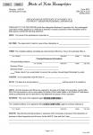State of New Hampshire Application for Certificate of Authority For Profit Foreign Professional Corporation | Form 40PC