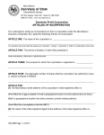 New Mexico Domestic Profit Corporation Articles of Incorporation | Form SOS-DPR