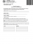 New Mexico Articles of Incorporation Domestic Nonprofit Corporation | Form DNP