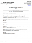 New York Application for Authority of Foreign Not-For-Profit Corporation | Form DOS 1555-1-a
