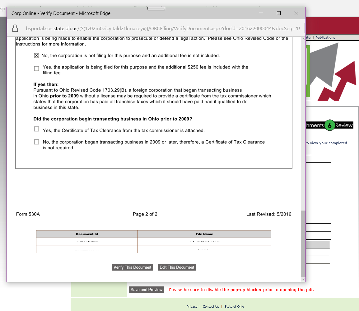Check availability of business name ohio - Related Forms