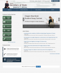 Oregon Articles of Incorporation Business/Professional Corporation