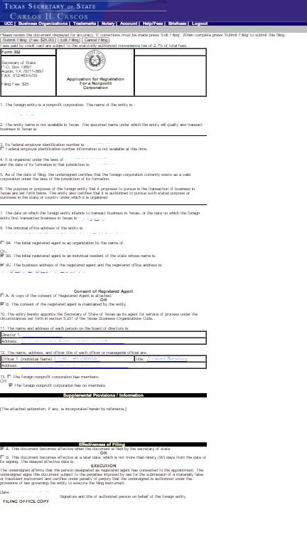 tx regis of nonprofit p19