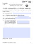 Wisconsin Articles of Incorporation Stock For Profit Corporation | Form DFI Corp-2