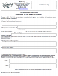 Wyoming Application Foreign Profit Corporation Application for Certificate of Authority
